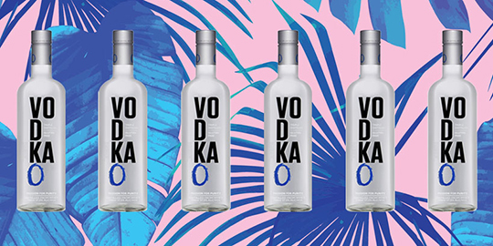 Vodka O and other spirits brands